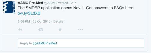 AAMC SMDEP App