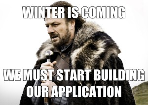 pre prof meme 1 - winter is coming
